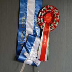 Supreme Rosettes and Sashes